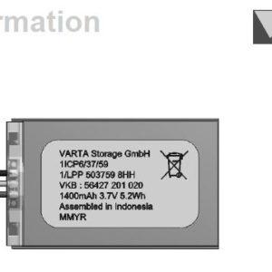 VAR-1/LPP503759 8HH PCM W